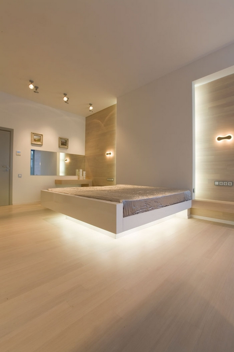 интерьер спальни - фото № 13794
