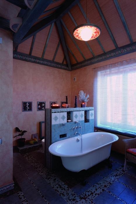 Фото № 13873 ванная  Загородный дом