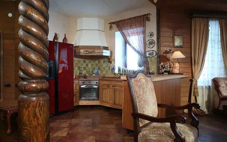Загородный дом. кухня из проекта , фото №14055