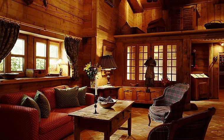 интерьер гостиной - фото № 10771