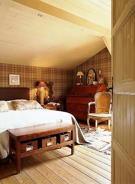 интерьер спальни - фото № 10786