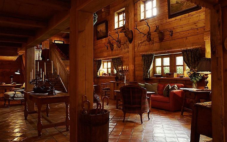 интерьер гостиной - фото № 10772