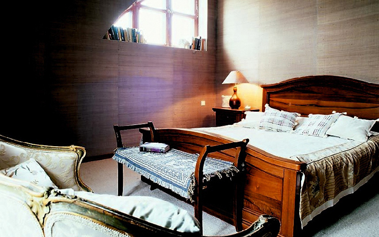 Загородный дом. спальня из проекта , фото №14155