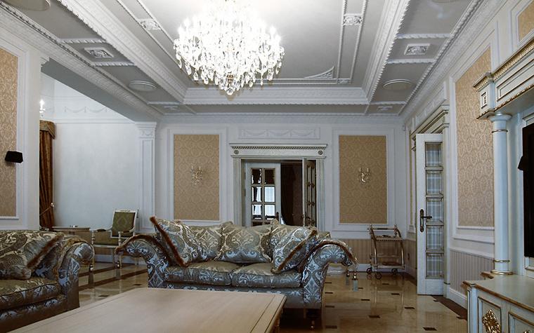 Фото № 14159 гостиная  Загородный дом