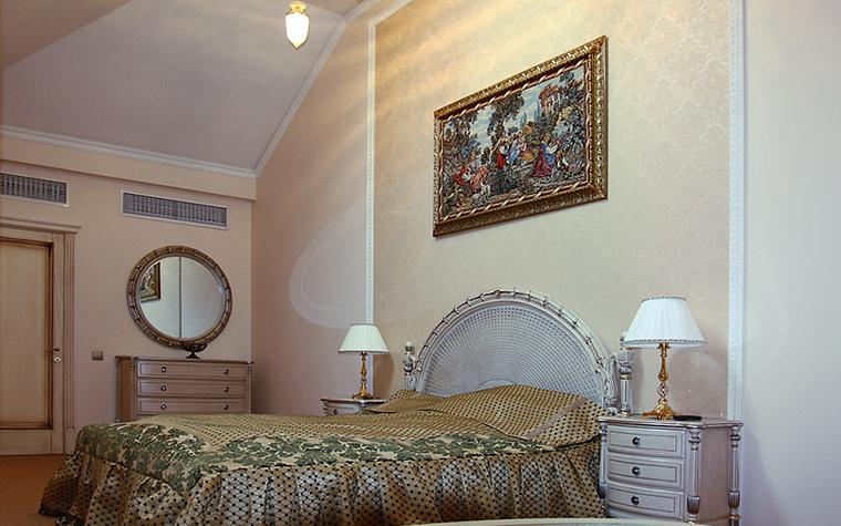 Фото № 14164 спальня  Загородный дом