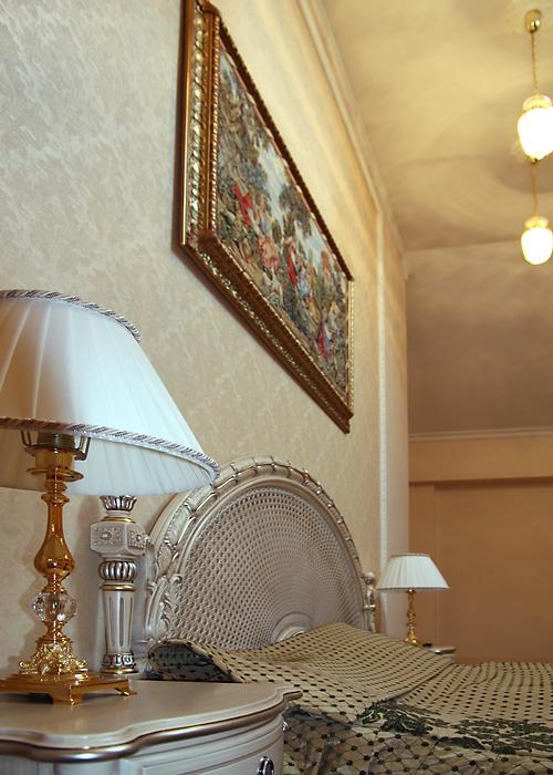 Фото № 14165 спальня  Загородный дом