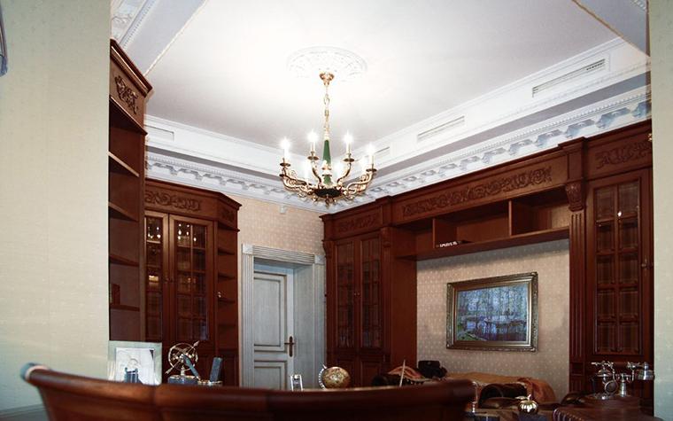 Фото № 14169 кабинет библиотека  Загородный дом