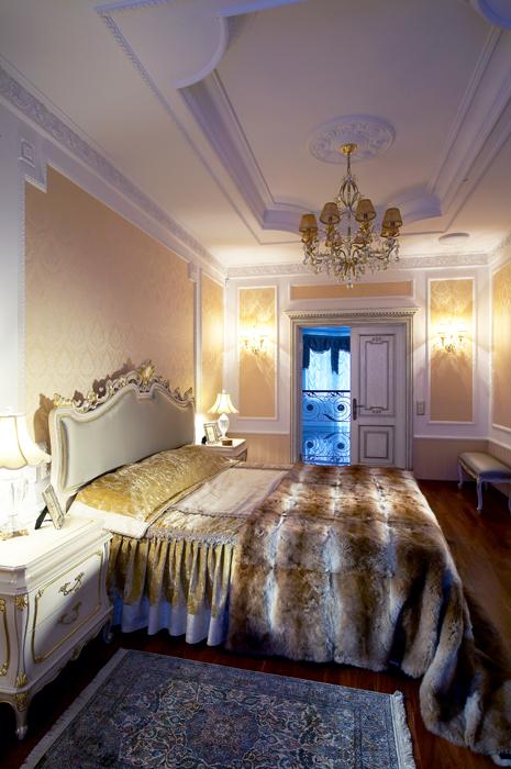 интерьер спальни - фото № 14178