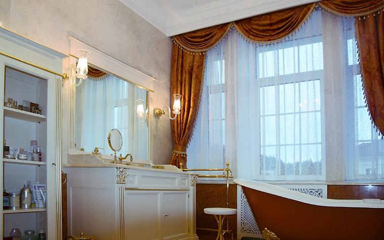 Загородный дом. ванная из проекта , фото №14176