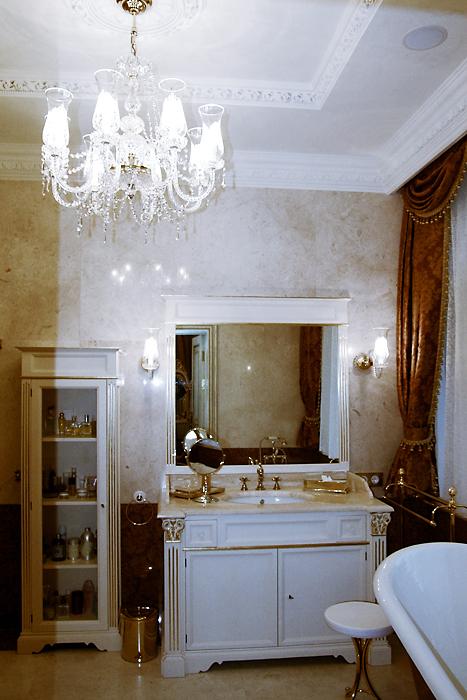 Загородный дом. ванная из проекта , фото №14177