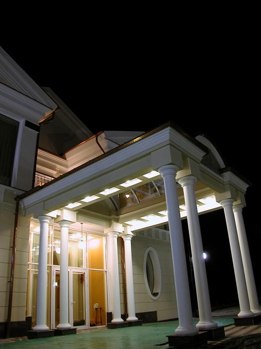 Фото № 14338 фасад  Загородный дом