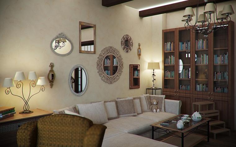 интерьер гостиной - фото № 14481