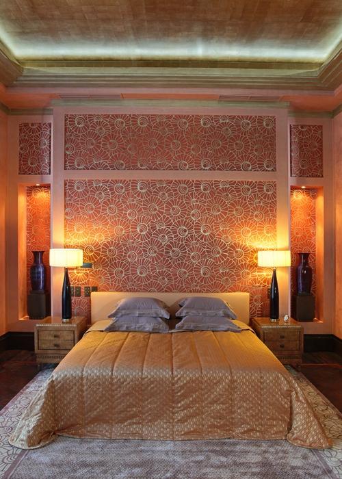 Фото № 14570 спальня  Загородный дом