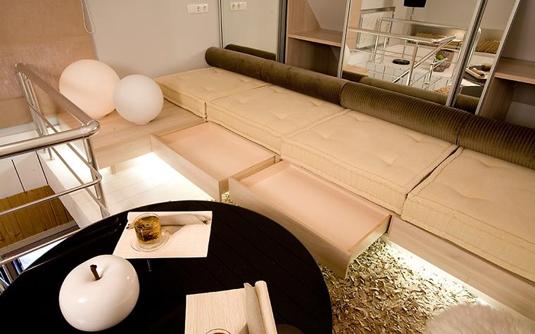 интерьер гостиной - фото № 14632