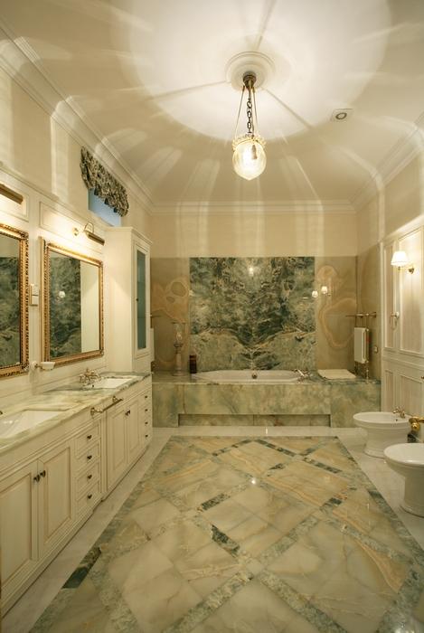 Загородный дом. ванная из проекта , фото №15112