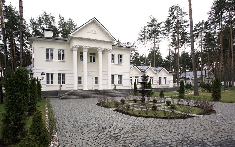 Загородный дом. фасад из проекта , фото №15902