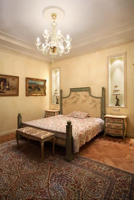 Загородный дом. спальня из проекта , фото №15911