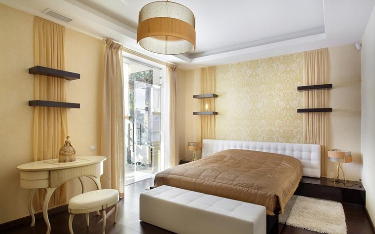 Фото № 15189 спальня  Загородный дом
