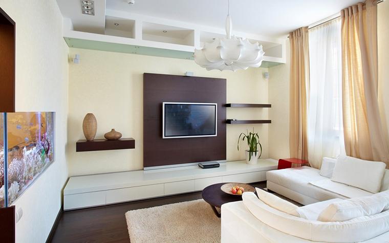 интерьер гостиной - фото № 15191