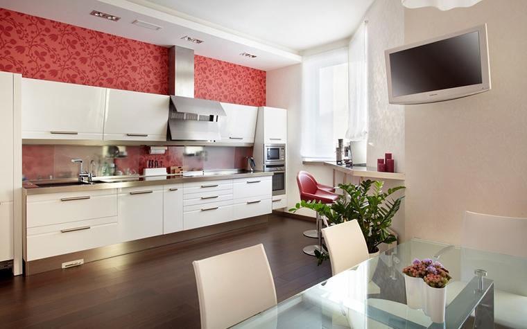 Фото № 15198 кухня  Загородный дом