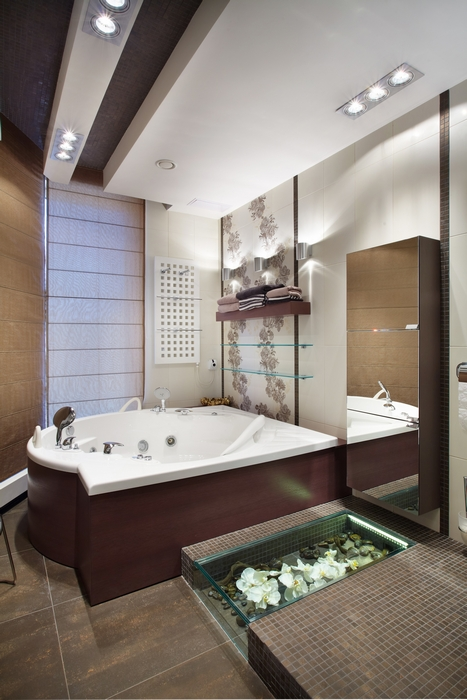 Фото № 15187 ванная  Загородный дом
