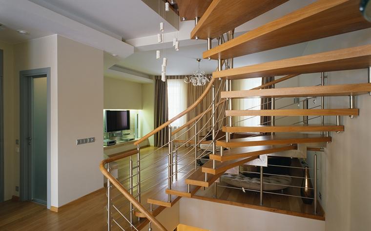 Загородный дом. холл из проекта , фото №15305
