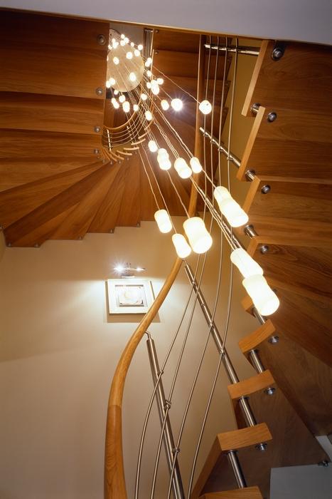 Загородный дом. холл из проекта , фото №15306
