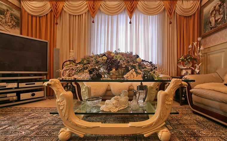 интерьер гостиной - фото № 15316