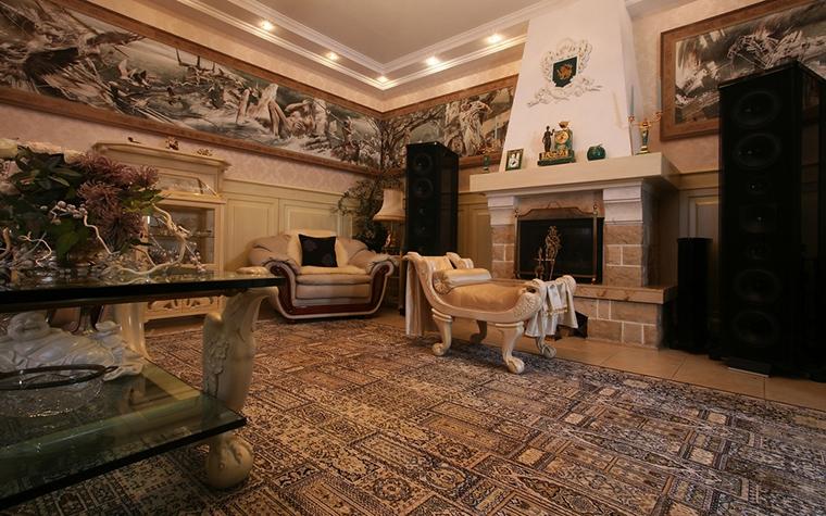 интерьер гостиной - фото № 15319