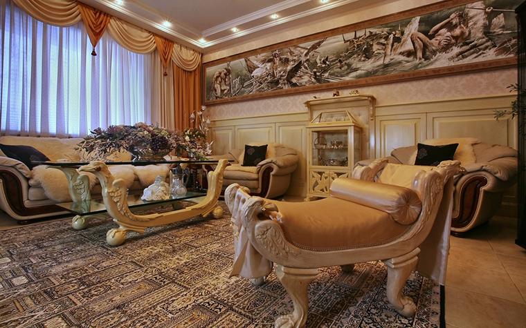 интерьер гостиной - фото № 15320