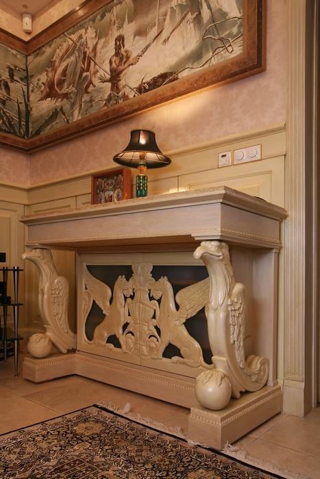 интерьер гостиной - фото № 15323