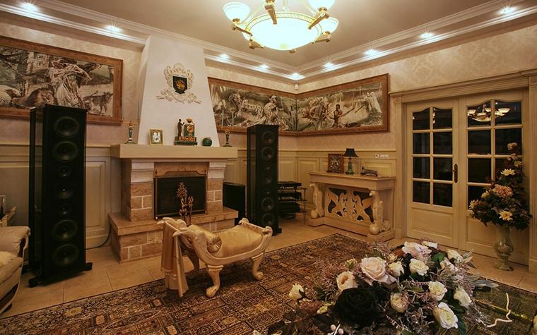 интерьер гостиной - фото № 15326