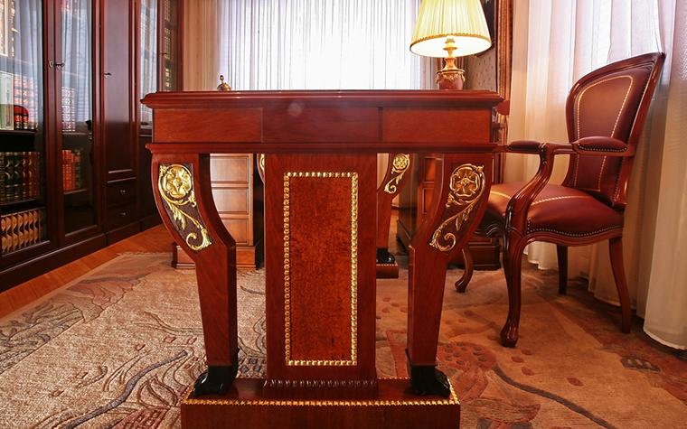Фото № 15328 кабинет библиотека  Загородный дом
