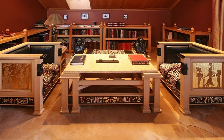 Фото № 15338 гостиная  Загородный дом