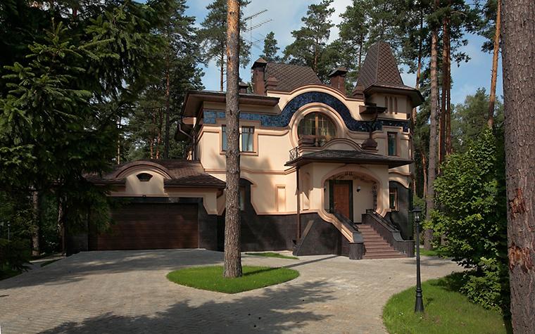 Фото № 15433 фасад  Загородный дом