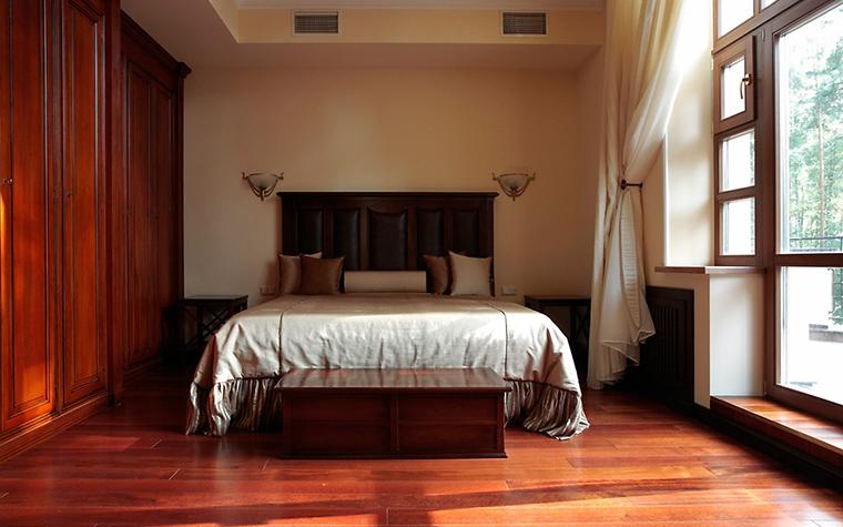 Фото № 15443 спальня  Загородный дом