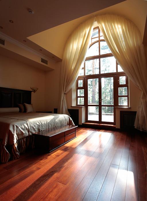 Фото № 15444 спальня  Загородный дом