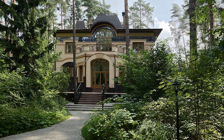 Фото № 15435 фасад  Загородный дом