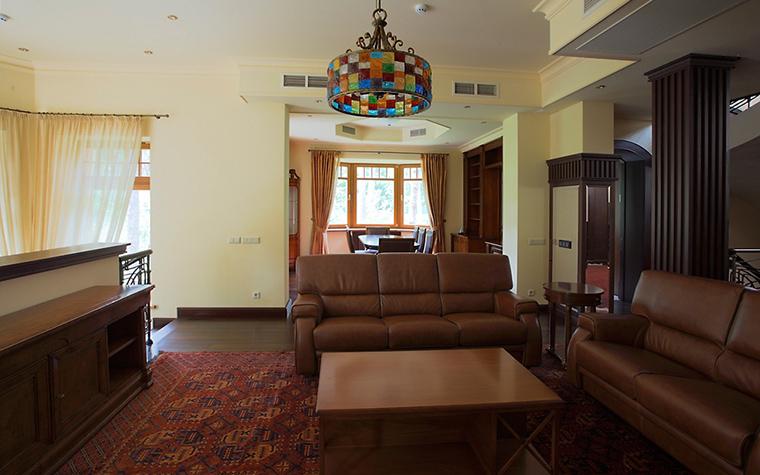 Фото № 15446 гостиная  Загородный дом