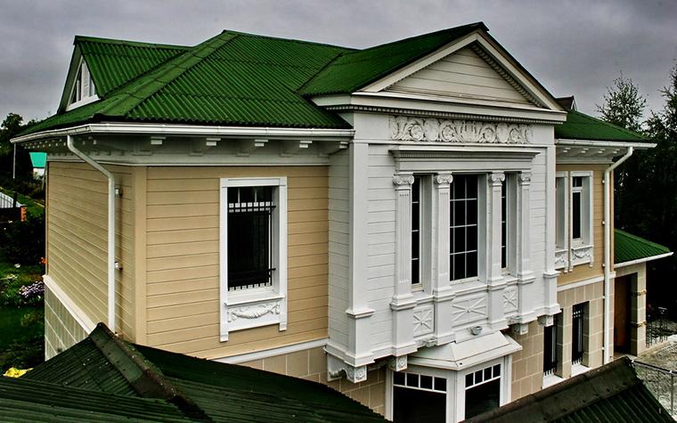 Фото № 15678 фасад  Загородный дом