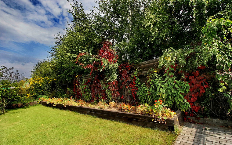 Фото № 15715 ограда забор  Загородный дом