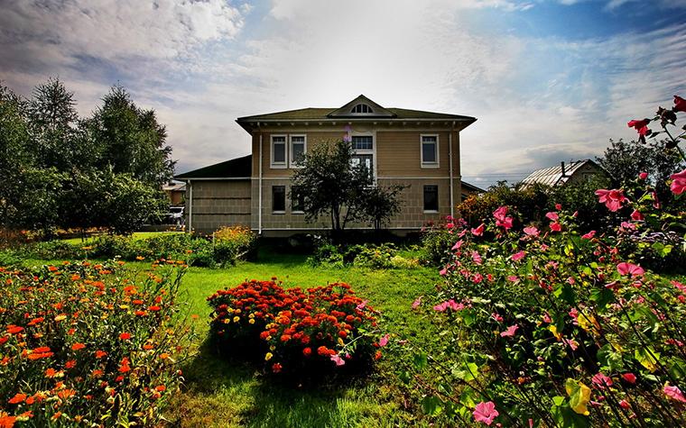 Фото № 15688 фасад  Загородный дом