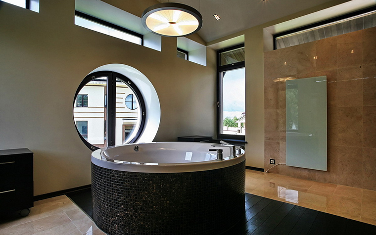 Загородный дом. ванная из проекта , фото №15731