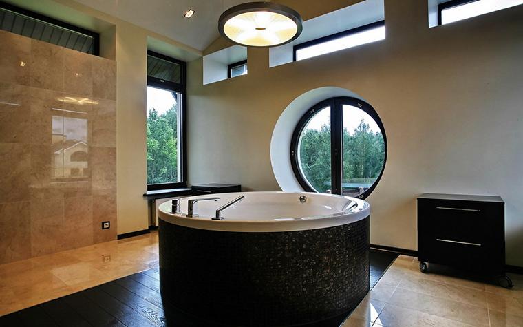 Загородный дом. ванная из проекта , фото №15732