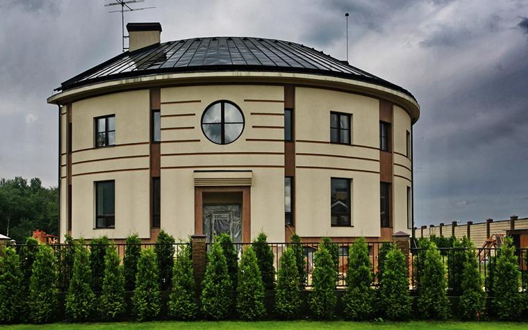 Загородный дом. фасад из проекта , фото №15734