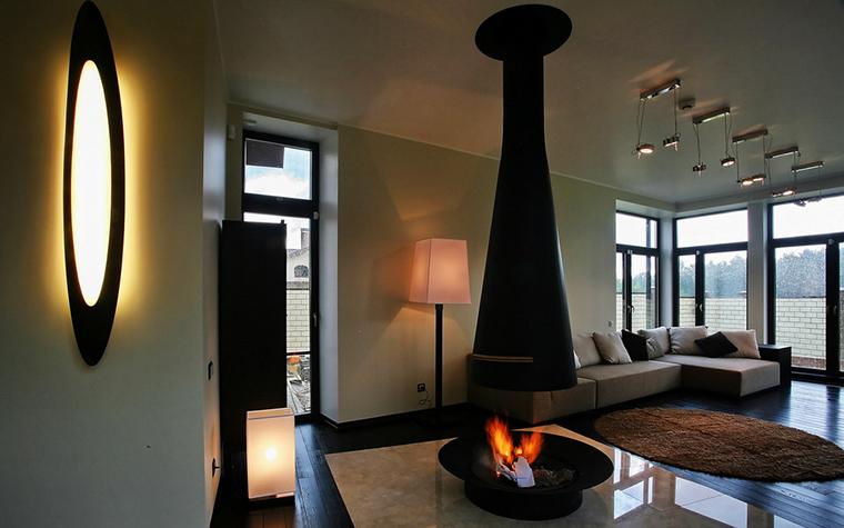 интерьер гостиной - фото № 15717