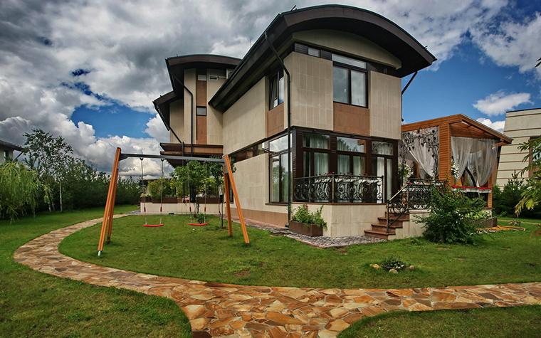 Загородный дом. фасад из проекта , фото №15741