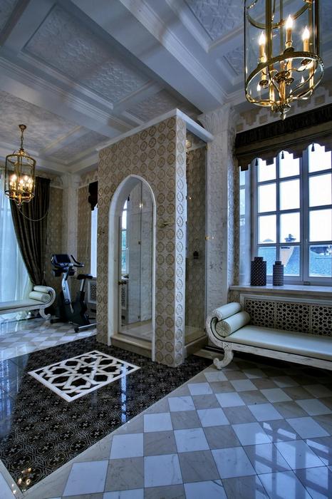 Фото ванная Загородный дом