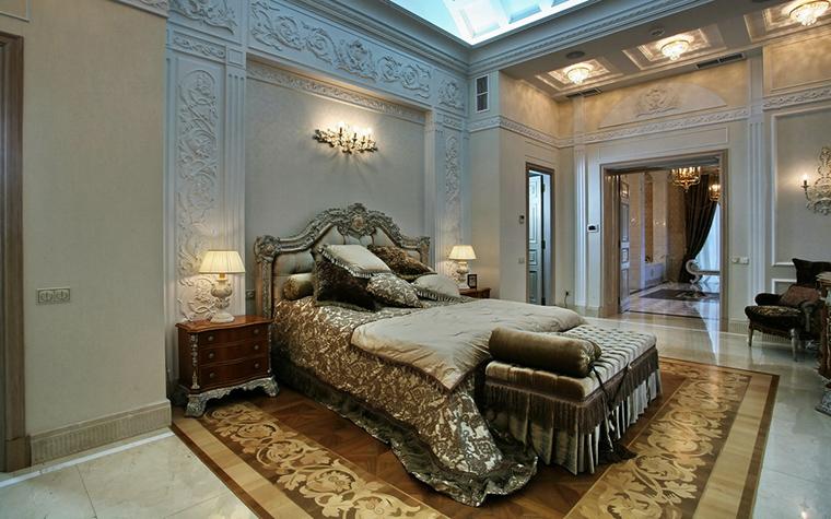 интерьер спальни - фото № 15757