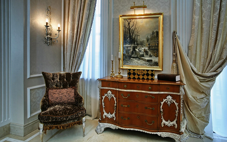интерьер спальни - фото № 15763